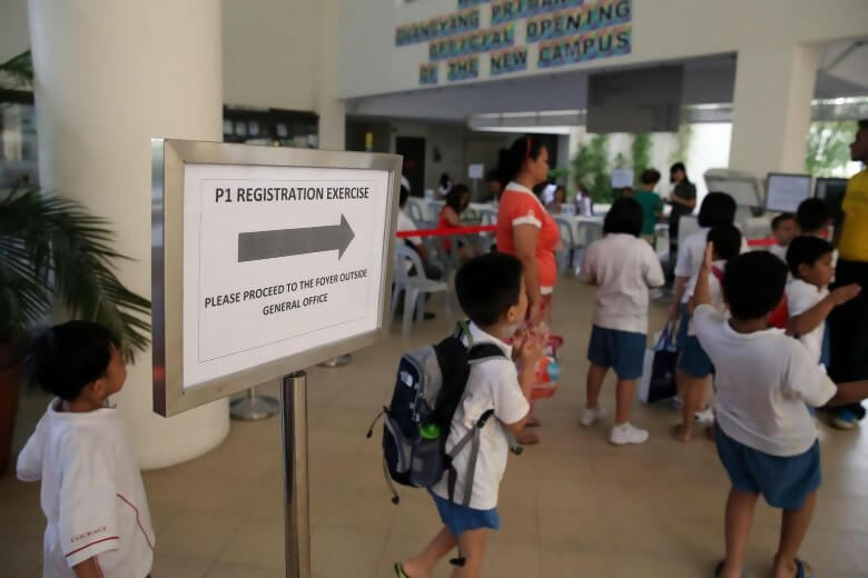 Primary 1 Registration for 2021